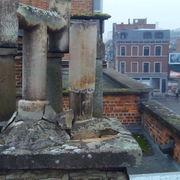 Servi-Home - Réparation cheminée - Avant